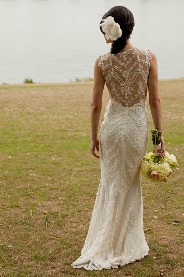 El Paso Wedding Blog Belle The Magazine Lace Back Wedding Dresses