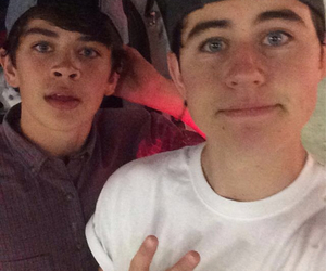 nash grier, hayes grier, and snapchat image