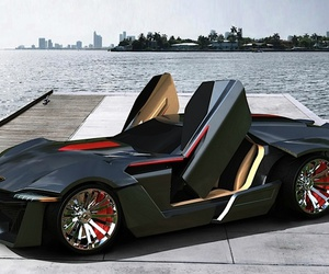 cars, sport cars, and tuning cars image