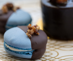 delicious, food, and macaroons image