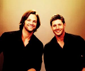 jared padalecki, Jensen Ackles, and supernatural image