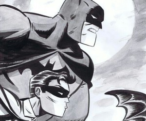 batman, comic, and DC image