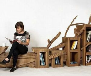 books, home design, and creativity image
