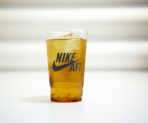 drink and nike image