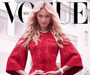 vogue, candice swanepoel, and dress image