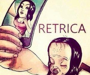retrica, funny, and true image
