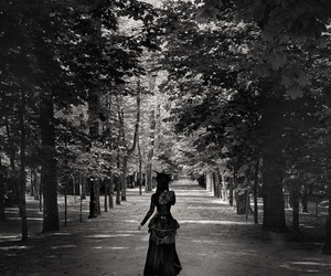 black and white, photography, and victorian image