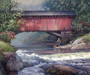 art, artwork, and bridges image