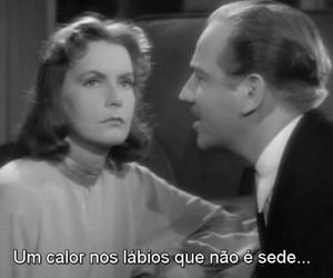 greta garbo, movie, and old image