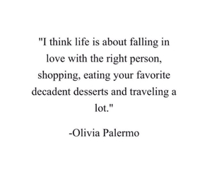 food, life, and olivia palermo image