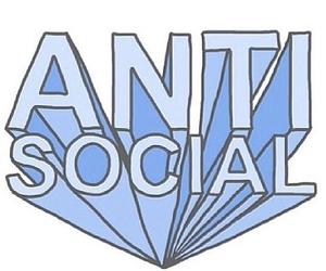 anti social, overlay, and transparent image