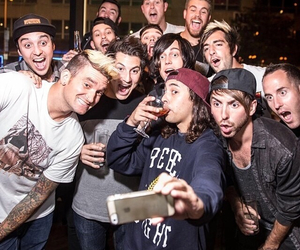 pierce the veil, all time low, and sleeping with sirens image