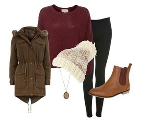 clothes, boots, and fashion image