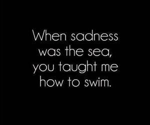 sea, love, and quotes image