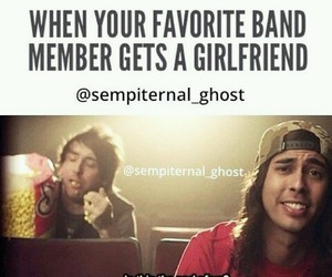 all time low, pierce the veil, and girlfriend image