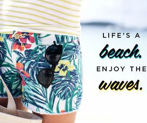 beach, pattern, and life image
