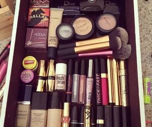 makeup, make up, and dior image