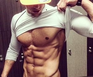sexy body, cap, and hot boys image