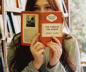 book, girl, and beautiful image