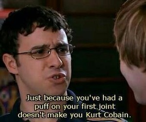 kurt cobain, quote, and funny image