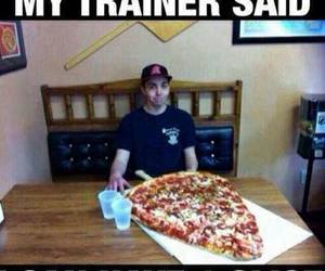 funny, pizza, and lol image