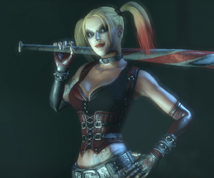 Arkham Asylum, harley quinn, and arkham city image