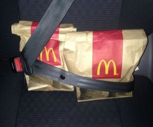 car, food, and funny image