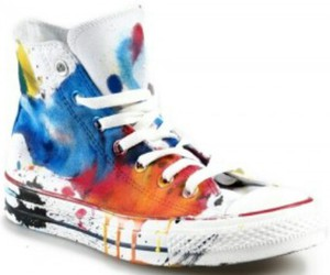 allstars, paint, and diy image