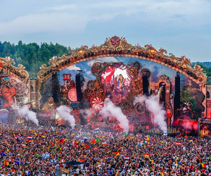 concert, cool, and Tomorrowland image
