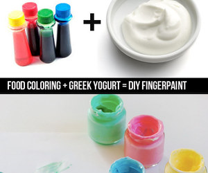 diy and finger paint image