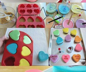food, cake, and heart image