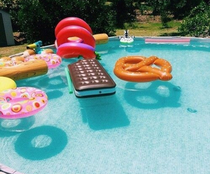 cool, pool, and party image