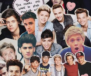 one direction, Collage, and 1d image