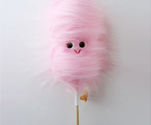 cotton candy, sweet, and cute image