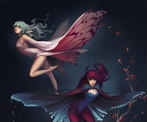 butterfly, moth, and pretty image