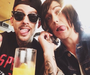 mike fuentes, kellin quinn, and ptv image