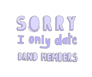 band, date, and quotes image
