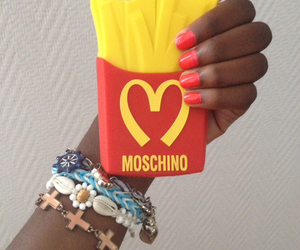 fries, fun, and Moschino image