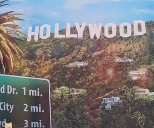 hollywood, Dream, and los angeles image