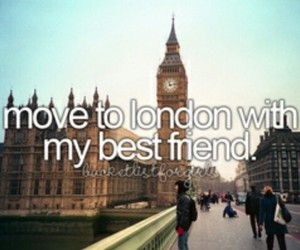 london, best friends, and friends image