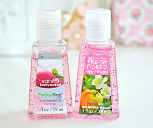 pink, bath and body works, and girly image