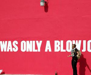 blow job, pink, and boy image