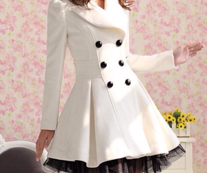 coat and white image