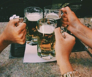 alcohol, drink, and friendship image