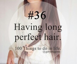 hair, 100 things to do in life, and 36 image