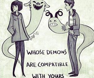 demon, love, and quotes image