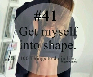 41, 100 things to do in life, and shape image