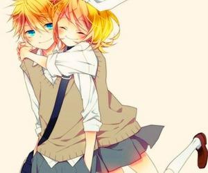 anime, couple, and twins image