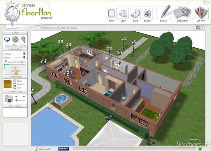 Floor Plan Maker Free With Complete And