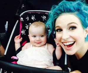 paramore, hayley williams, and baby image